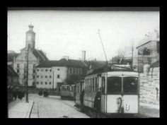 München 20er und 30er Jahre Trambahn und Verkehrsszenen