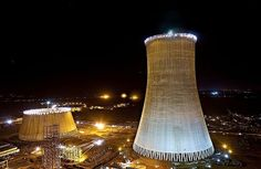 World's highest cooling towers take shape | Construction News | The Construction Index