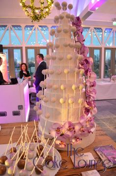 Cakepop Stand Wedding Purple soooooo cuteeeee!