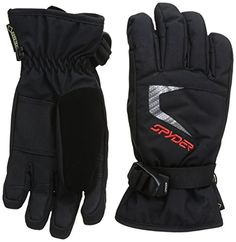 Spyder Boys Traverse Gloves Large BlackBlackVolcano ** See this great product.(This is an Amazon affiliate link and I receive a commission for the sales)