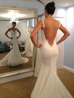 Vestidos de novia escote de espalda