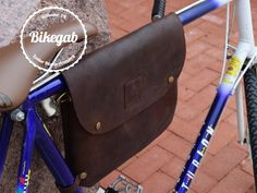 Bikegab - Leather Bicycle Frame Bag / Crossbody bag project video thumbnail