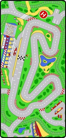 Race track play carpet, perfect for the little boy on your shopping list! Race Car Room, Kids Area Rugs, Cool Kids Rooms, Cleaning Toys, Boys Room Decor, Baby Boy Rooms, Animals For Kids, Kids Playing, Little Boys