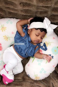 Cute Mixed Babies, Cute Black Babies, Black Baby Girls, Beautiful Black Babies, Cute Little Baby, Pretty Baby, Cute Baby Girl, Baby Swag Girl, Baby Outfits