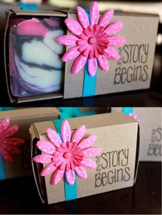 Lovely box and decoration from Soap Queen