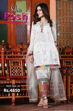 Beautiful Pakistani Dresses, Pakistani Formal Dresses, Pakistani Fashion Casual, Pakistani Dress Design, Pakistani Outfits, Party Wear Indian Dresses, Designer Party Wear Dresses, Kurti Designs Party Wear, Frock Fashion