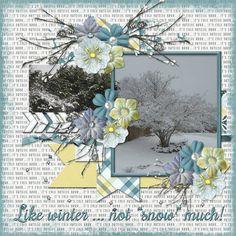 """Like winter ... not ""snow"" much!"" digital layout made by CT artist poki featuring Jen C Designs digital layout template kit SASS available at The Digital Press http://shop.thedigitalpress.co/Sass-Template-Set.html Kit - Digi Scrap Parade Feb 2018 BRRR!"