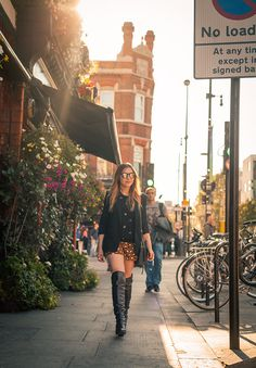 Over the knee boots in London