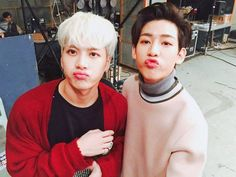 Jackson & BamBam | ASC twitter update [160329]