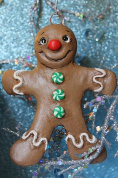 Gingerbread Boy by Kelly Stamblesky Smith