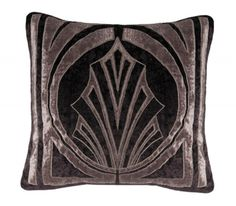 Hollywood Pewter Velvet Cushion cover