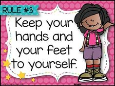 Classroom Rules (Happy and Bright Theme) by Lindy du Plessis Classroom Door Signs, Classroom Rules Poster, Classroom Bulletin Boards, Classroom Themes, First Day Of School Activities, First Day School, Kids Learning Activities, Social Skills, Classroom Management