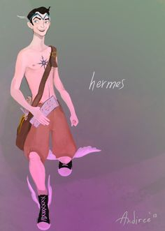 Hermes, god of thieves and travelers