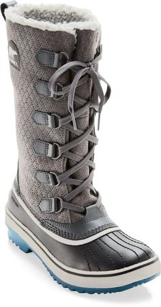 RARE!! SOREL WOMENS 8.5-9.5 TIVOLI HIGH LACE UP WINTER SNOW BOOTS #SOREL #Fashion