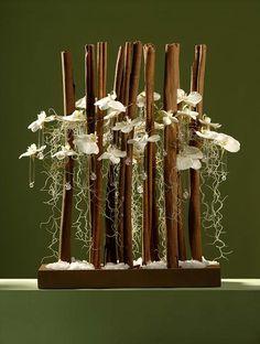 Art object parallel vertical - Rain Verdi France: Atelier Yokohama Yamate flower | flower arrangement | France Petit study abroad