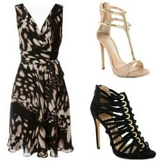 The dress would suit the inverted triangle body shape.