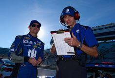 Greg Ives Photos Photos - Jeff Gordon, driver of the #88 Nationwide Chevrolet, talks with his crew chief Greg Ives prior to qualifying for the NASCAR Sprint Cup Series Goody's Fast Relief 500 at Martinsville Speedway on October 28, 2016 in Martinsville, Virginia. - Martinsville Speedway - Day 1