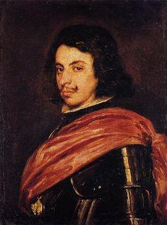 Velazquez, Francesco I d'Este. Ospite del Palazzo Ducale, ma di solito a Modena. Che baffo, che drappo
