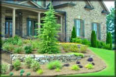 Beautiful example of southern classic landscape
