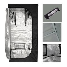Special Offers - ECO-WORTHY 32X32X63 Mylar Hydroponics Grow Tent New for Indoor Plant Growing - In stock & Free Shipping. You can save more money! Check It (April 25 2016 at 08:16AM) >> http://herbgardenplanters.net/eco-worthy-32x32x63-mylar-hydroponics-grow-tent-new-for-indoor-plant-growing/