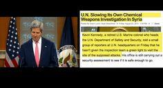 Destapando el Engaño de John Kerry Sobre el Ataque con Armas Quimicas enSiria