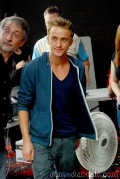 Tom Felton--there are hot men...and then there is tom