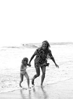 happy at the beach