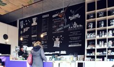 Chalkboard art en menukaart voor Coffee Bar 'De Fazant' in Veenendaal