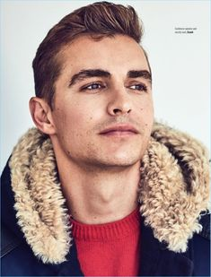 Ready for his close-up, Dave Franco wears a Coach look.