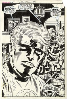 """themarvelageofcomics: """" Page from FANTASTIC FOUR #95 by Jack Kirby and Joe Sinnott """""""