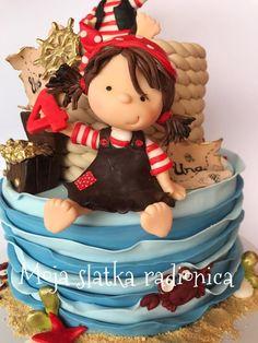 Cute pirates cake  by Branka Vukcevic