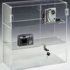 Lucite Display Shelves