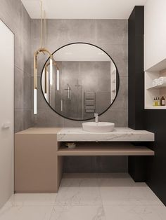 Bathroom Furniture Mirror Interior Design Ideas For 2019 Bathroom Mirror Design, Bathroom Inspo, Bathroom Interior Design, Home Interior, Bathroom Inspiration, Modern Bathroom, Small Bathroom, Master Bathroom, Furniture Inspiration