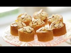 Beth's Raspberry Almond Thimble Cakes - YouTube