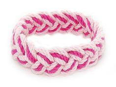 Sailor Knot Bracelet Pink & Hot Pink