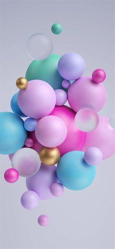Daisy Wallpaper, Bubbles Wallpaper, Purple Wallpaper Iphone, Collor, Pretty Wallpapers, Iphone Wallpapers, Easter Eggs, Happy Birthday, Neon