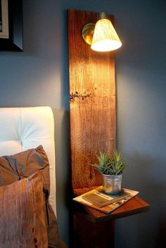 casa de fifia blog de decoração : 12 ideias de criados mudos para pequenos espaços