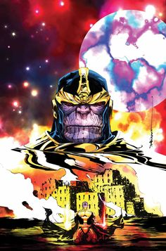 THANOS: A GOD UP THERE LISTENING #1-4 (of 4) ROB WILLIAMS (W) NEIL EDWARDS, PACO DIAZ, IBAN COELLO (A) CoverS BY DUSTIN NGUYEN