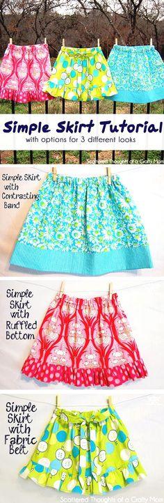 Faldas para niñas bebes sewing, sewing kids clothes y skirt tutorial. Sewing Kids Clothes, Sewing For Kids, Baby Sewing, Sewing Hacks, Sewing Tutorials, Sewing Tips, Sewing Blogs, Sewing Ideas, Crochet Tutorials