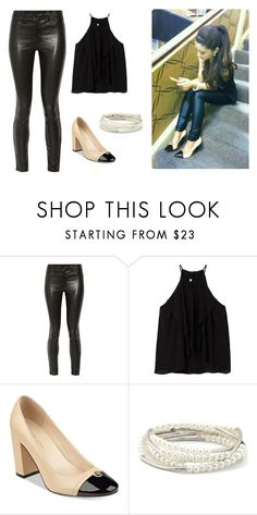 """""""5"""" by adara-aijem on Polyvore featuring J Brand, MANGO, Tommy Hilfiger and Chrysalis"""