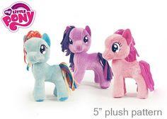 Quirky Artist Loft: Free Pattern: My Little Pony