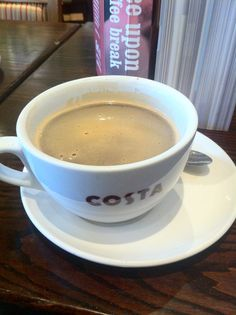 Costa coffee in North Greenwich :) (via Jeff Harvey)