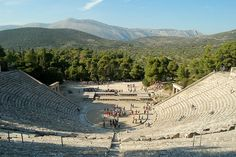 Theater of Epidaurus Double Gate, Greek History, Ancient Greece, Stairways, Travel Photography, Bucket, Around The Worlds, The Incredibles, Earth