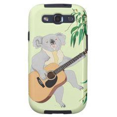 Koala Playing Guitar - Samsung Galaxy S3 Case