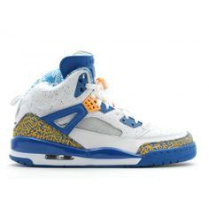 best sneakers 28dbb e72dc 315371-162 Air Jordan Spizike DTRT Do The Right Thing White Varsity Red  Argon Blue