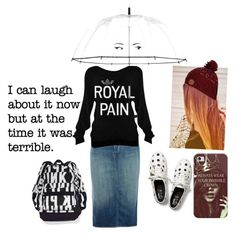"""""""Rainy/Cold Day"""" by kortlynwells ❤ liked on Polyvore featuring Kate Spade, J Brand, Billabong, Keds, Casetify, apostolic and pentecostal"""