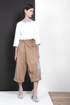 ARMANDO TAKEDA 2015-16AW LOOK15 #tops #cullotepants