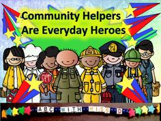 Social Studies and Character Education LessonIntroduce your students to the real life heroes all around us with this  engaging rhymed presentation about community helpers.Questions are provided throughout the poem to guide student thinking and class discussion.