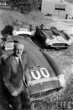 1956 Mille Miglia - Enzo Ferrari