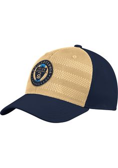 df051ba216c Adidas Philadelphia Union Mens Navy Blue 2018 Authentic Structured Flex Hat  - Image 1 Union Game